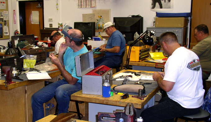 Lassen Community College Gunsmithing Program