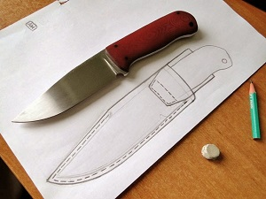 Knife Templates And Patterns How To Make Sheath Makers Legacy