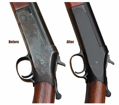 How-to-re-blue-a-Gun-Before-and-After