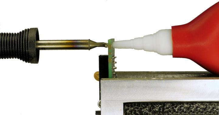 Use Desoldering Bulb