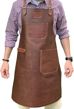 Andean Leather Apron