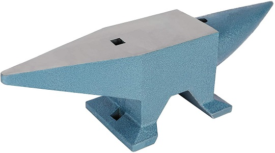 CO-Z 66lbs Single Round Horn Anvil