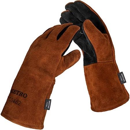 BEETRO Blacksmithing -Welding Gloves