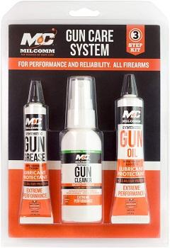 Mil-Comm 3 Step Gun Care System