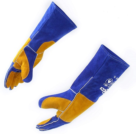 RAPICCA Fire Resistant Gloves with Extra Long Sleeve