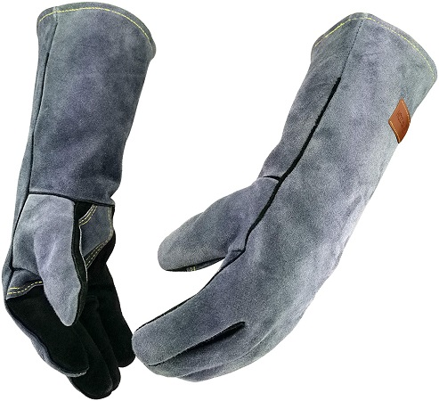 WZQH Leather Forge Welding Gloves